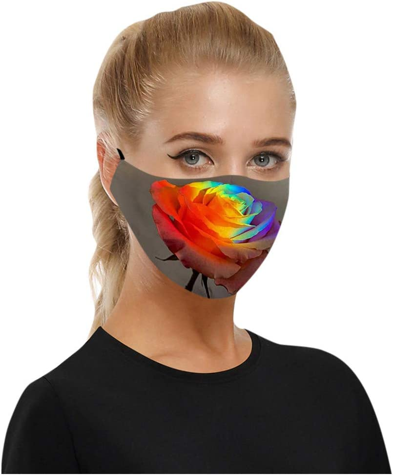 2020 New 5pc Anti-dust Mouth Shield for Dust Protection Anti Face Shield Washable Earloop Mouth Shield