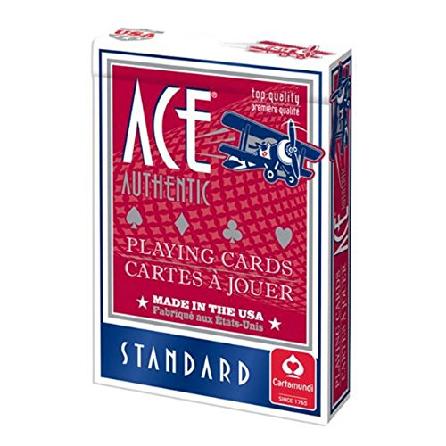 Cartamundi 1000 Ace Poker Playing Cards Assorted Colors