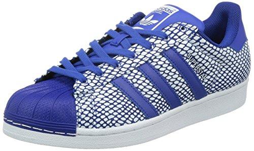 adidas Superstar Snake Pack - Zapatillas de Running para Hombre, Color Azul/Blanco, Talla 40 2/3