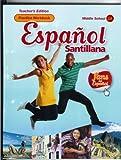 Practice Workbook Teacher's Edition (Espanol Santillana, Middle School 1A)