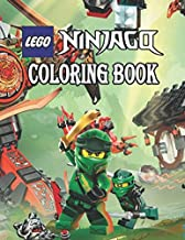 Lego Ninjago Coloring Book: Lego Ninjago Jumbo Coloring Book, Coloring pages of Lego Ninjago, Great Coloring Book for Kids