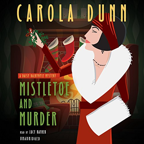 Mistletoe and Murder audiobook cover art