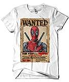 Camisetas La Colmena 512-Parodia Deadpool Wanted