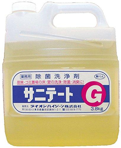 【床・壁除菌洗浄剤】サニテートG 3.8kg