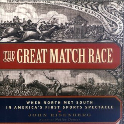 The Great Match Race audiobook cover art
