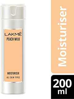 Lakmé Peach Milk Moisturizer Body Lotion, 200ml