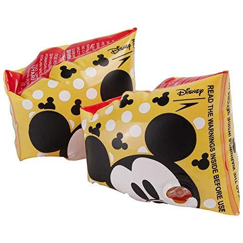 Speedo Unisex Youth Disney Printed Armbands Mickey Mouse Empire YellowBlackWhite 2 6