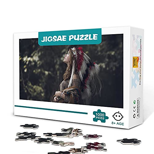 1000 piezas de rompecabezas avanzados. Nativo americano Adecuado para jugar en familia.