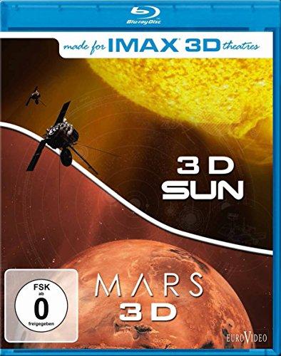 IMAX: Sun 3D/Mars 3D [3D Blu-ray]