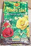 Compo Sana - Tierra de calidad para rosas, 50 l