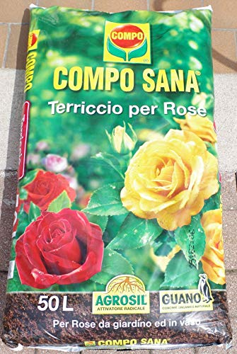 SUELO DE CALIDAD PARA ROSE COMPO SANA PACK DE 50 LT