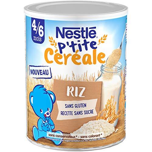 Nestlé Bébé P'tite Céréale Riz Dès 4/6 Mois 220 g