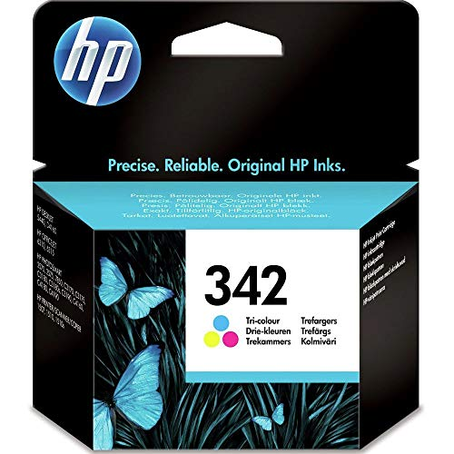 HP TINTA ORIGINAL Nº343 COLOR 5740/HP-OFI 1510 7 ML DJ 6940/9800/SERIE 460 PS-B8350/D5160/8750