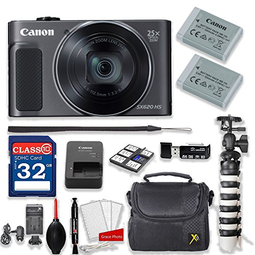 Canon PowerShot SX620 HS 20.2MP 25X Optical Zoom...