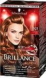 SCHWARZKOPF BRILLANCE Couture Collection 921 Kupferrot Stufe 3, ausgewählt von Schwarzkopf Color Trend Experten, 3er Pack (3 x 143 ml)