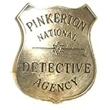 Pinkerton Detective Agency Obsolete Old West Police Badge