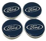 Tapas originales para centro de llantas de coches Ford, 4 unidades