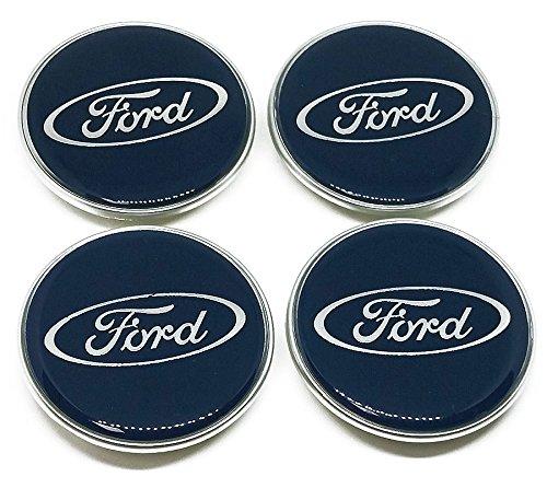 Original Ford Nabendeckel / Nabenkappe Satz