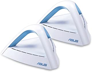 ASUS Lyra Trio (2-Pack) AC1750 Dual Band Mesh WiFi System – Covers Multi-Story Homes up to 5400 sq. ft., with AiMesh support