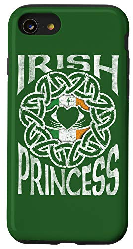 iPhone SE (2020) / 7 / 8 Irish Princess Celtic Knot Claddagh Ring St. Patrick's Day Case