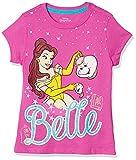 Hockey - Playera para niña Bella Disney Princesas Color Rosa Estampada 10 años