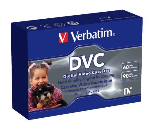 Verbatim 47650 Mini DV Single PK 60 mn