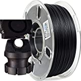 PRILINE Carbon Fiber Polycarbonate 1KG 1.75 3D Printer Filament, Dimensional Accuracy +/- 0.03 mm, 1kg Spool, 1.75 mm,Black