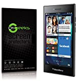 CitiGeeks BlackBerry Leap Tempered Glass Screen Protector - Crystal Clear Toughened Glass Screen Protector Retail Package