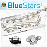 3387747 & 279973 Dryer Heating Element With Dryer Thermal Cut-off Fuse Kit by Blue Stars - Exact Fit for Whirlpool & Kenmore Dryers - Replaces 80003 WP3387747 3391913 AP3094323