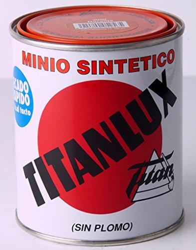 Titan M41919 - Imprimacion antioxido 375 ml naranja