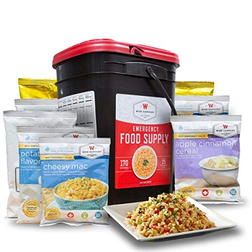 Wise Company Emergency Food Preparedness Kit, 170 Serving