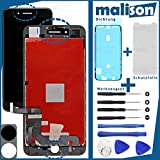 Malison - Set de reparación de pantalla para Apple iPhone 7 + Plus (incluye pantalla táctil LCD, junta, protector de pantalla, juego de herramientas)