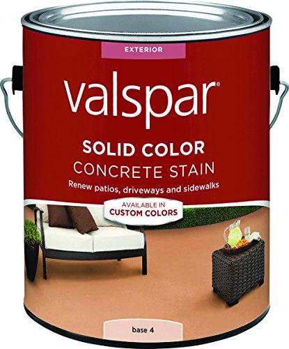 Valspar Solid Base 4 Resin Concrete Stain 1 gal. - Case of: 4;