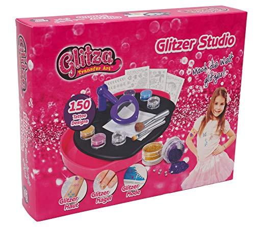 Knorrtoys GL7517 - Glitza, Design Studio, Glitzertattoos