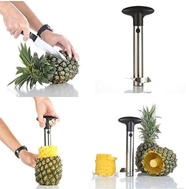 Aszune Al Stainless Steel Pineapple Peeler Pine Apple Slicer Corer Cutter