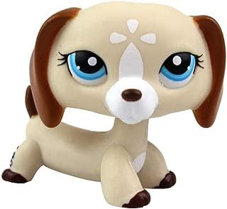 Starry Eyes LPS Dog Figure Toy,123Loop Littlest Pet Toys LPS Collector Toy LPS Collectible Figure Loose Standing Dog