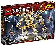 Ninjago LEGO 71702 Legacy Golden Mech Action Figure with Lloyd, Wu and General Kozu, Ninja Building ...