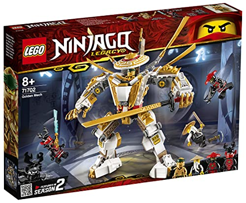 Lego 71702 Ninjago Goldener Mech
