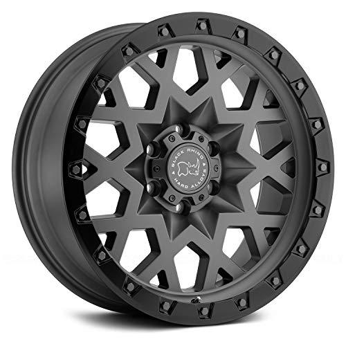 Black Rhino Sprocket Custom Wheel - 20x9.5, 6 Offset, 6x135 Bolt Pattern, 87.1mm...