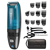 Remington Hc6550 Cordless Vacuum Haircut Kit, Vacuum Beard Trimmer,...