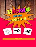 Tangram For Kids Ages 4-8: Tangram Puzzles For Kids