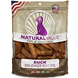 Loving Pets Natural Value All Natural Soft Chew Duck Sausages For Dogs, 13-Ounce