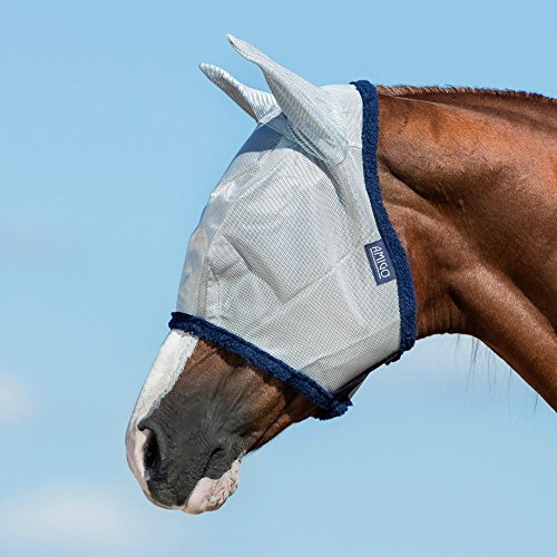 Amigo maille fine fly mask avec oreilles