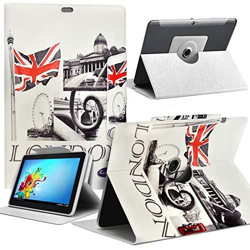 Karylax Schutzhülle Motiv MV11 Universal S für Tablet HP Pro Tablet 608 G1 8 Zoll