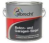 Lackfabrik J. Albrecht GmbH & Co. KG 3400707420703002500 Beton- und Garagen-Siegel RAL 7030 2.5l, 2,5l