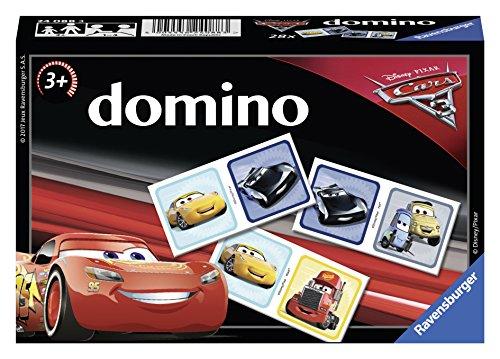 Ravensburger- Domino- Disney Cars 3- Jeu Educatif- A partir de 3 ans- 24088