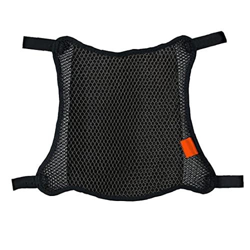 EElabper Asiento De Protección De La Motocicleta Cubierta Transpirable Antideslizante Resilientes Malla Scooter Cojines del Asiento De La Bici Presidente del Protector Mat Accesorios