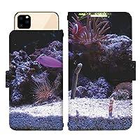 iPhone 12 Pro スライド式 手帳型 スマホケース スマホカバー dslide423(A) チンアナゴ 狆穴子 珍穴子 アイフォントゥエルブプロ アイフォン12プロ iphone12pro スマートフォン スマートホン 携帯 ケース アイフォントゥエルブプロ アイフォン12プロ iphone12pro 手帳 ダイアリー フリップ スマフォ カバー