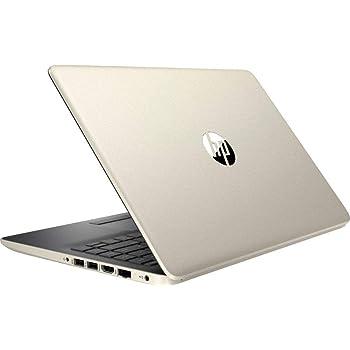 "Newest HP Thin and Lightweight 14"" HD Laptop, Intel Dual Core i3-7100U 2.4GHz Processor, 16GB RAM, 512GB SSD, WiFi, HDMI, USB-C, Webcam, Windows 10, Gold"