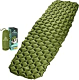 HiHiker Camping Sleeping Pad– Ultralight Backpacking Air Mattress...